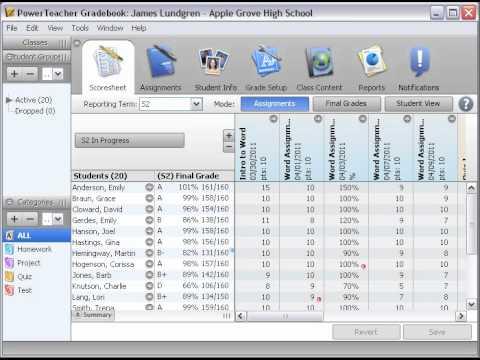 PowerTeacher Gradebook: Gradebook Lockout - YouTube