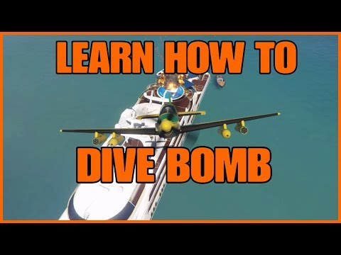 GTA ONLINE: LEARN HOW TO BE A DIVE BOMBER (SMUGGLERS RUN DLC)