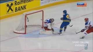 Хоккей Россия-Швеция 3-1 24.05.2014 полуфинал