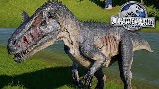 THE ALLOSAURUS INCIDENT!!! - Jurassic World Evolution FULL PLAYTHROUGH | Ep50 HD