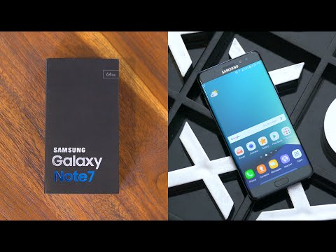 Samsung Galaxy Note 7: Unboxing & Review!