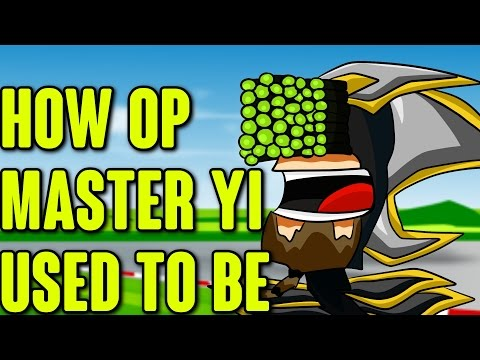 How OP Master Yi Used To Be