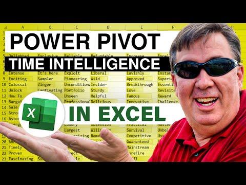 PowerPivot Data Analyst 11 - Time Intelligence