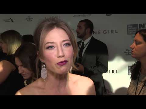 """Gone Girl: Carrie Coon """"Margo Dunne"""" New York Movie Premiere Interview"""