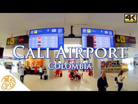 Cali Colombia Airport Aeropuerto Internacional Alfonso Bonilla Aragón CLO