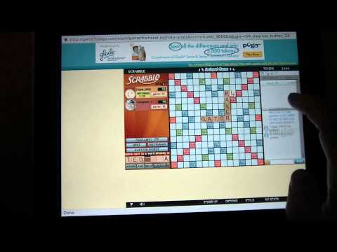 How To Play Pogo.com's Scrabble From Your IPad, IPhone Or Android With AlwaysOnPC