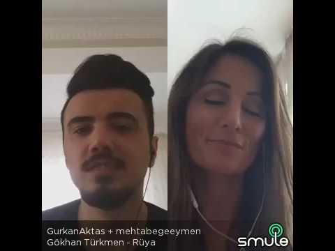 Gökhan Türkmen-Rüya  ( GüRKaN & MeHTaP ) MÜTHİŞ SES MÜTHİŞ YORUM MÜTHİŞ DUET
