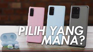 Raja Baru Samsung | Hands-on Galaxy S20, S20 Plus, S20 Ultra