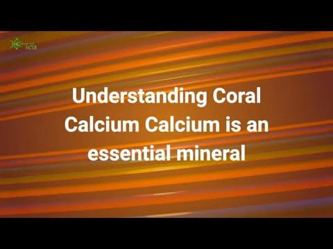 Understanding Coral Calcium