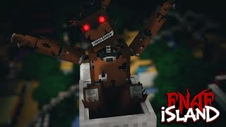 Minecraft - FNAF ISLAND #3 DESERTED ISLAND! (Five nights at freddy's roleplay)