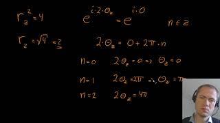 Rødder af komplekse tal