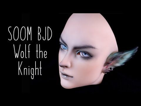 SOOM BJD   Speed Faceup   Wolf the Knight