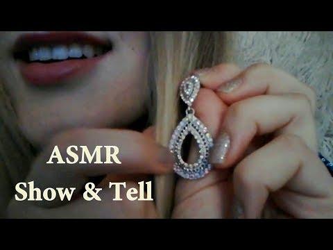 ASMR ~ Showing you my jewelry ~ Show & Tell in German/Deutsch