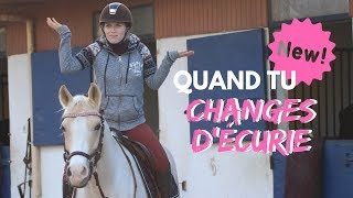 Quand on change d'écurie ! 😱🐎💨 I Georgette ou Taxi ?
