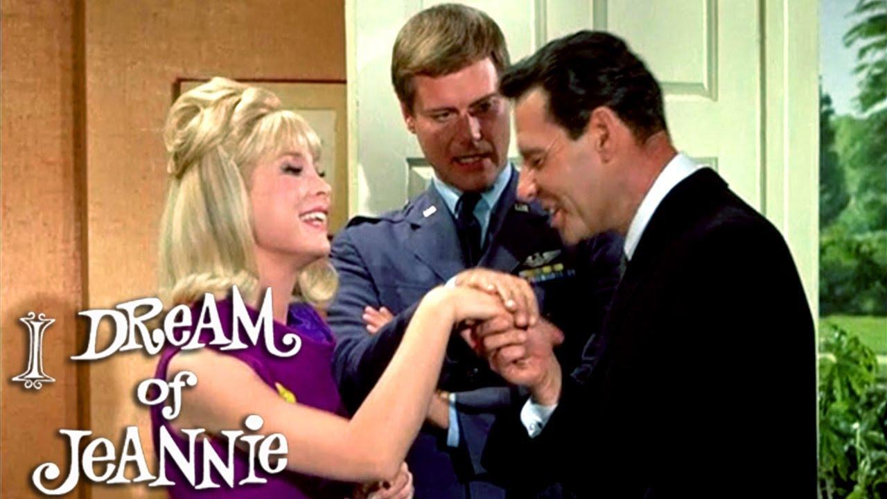 Jeannie Makes Tony Jealous | I Dream of Jeannie