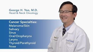 Meet Dr. George H. Yoo video thumbnail