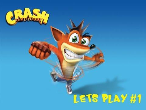 Crash Bandicoot Playtrough/Gameplay With Jesus Ep 1: Hi there!
