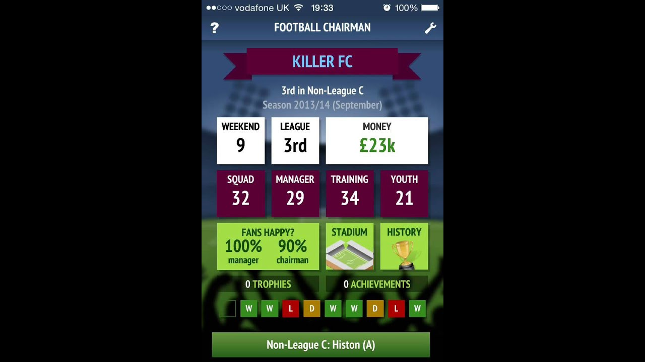 Football Chairman Walkthrough  Can We Get To The Prem