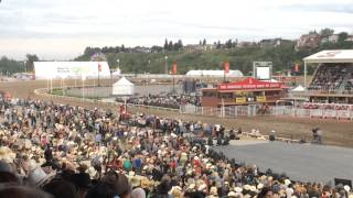 2015 Calgary Stampede Rangeland Derby Chuckwagon Finals.