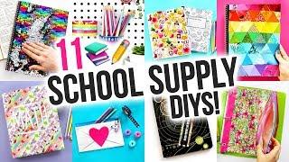 11 Back to School DIYs & Hacks! ~ How to Make Your Own School Supplies!