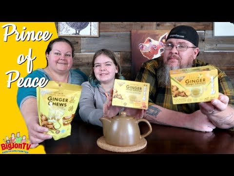 Prince Of Peace | Ginger Honey Crystals And Ginger Chews ||  Taste Test Tuesday