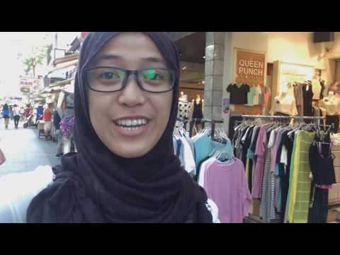 Belanja di Kaohsiung Fashion Shopping District