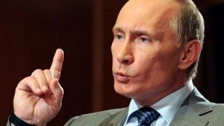 Poutine défie tout le monde, et dévoile tout en direct !