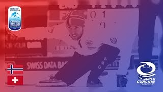 Norway v Switzerland - Men - Round Robin - Le Gruyère AOP European Curling Championships 2018