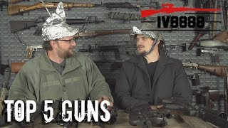 Top 5 Guns to Fight Off an Alien Invasion