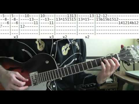 guitar lesson Lively Ones Surf rider tab from Pulp Fiction