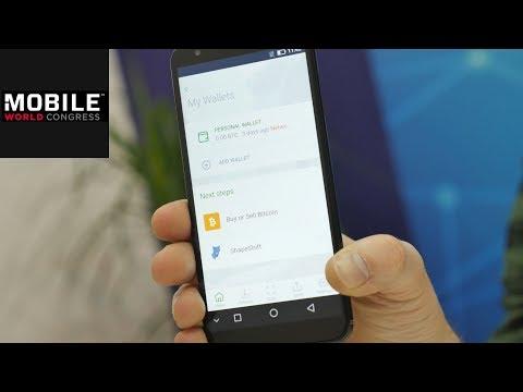 SikurPhone: Handy mit eingebautem Krypto-Wallet | MWC 2018