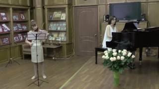 """Богданова Таисия - Л. Обер """"Тамбурин"""""""