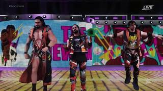 WWE 2K18 PC Funny Entrance and Victory scene - The Shield as The New Day [FullHD]