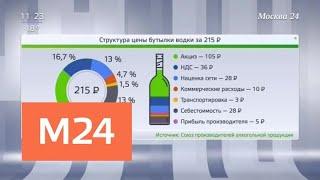В России выросли цены на импортный алкоголь - Москва 24