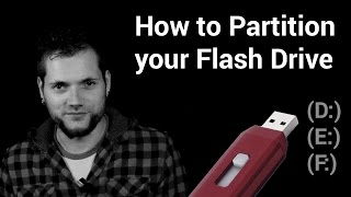 Convert USB flash drive to a Local Disk
