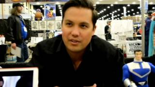 Michael Copon Star of One Tree Hill and Power Rangers interview