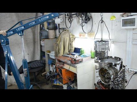 Фото к видео: Ремонт АКПП ZF HP24A - часть 1 Разборка и мойка