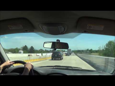 Driving on Interstate 476 S/Interstate 95 N (Milford Township, PA to Philadelphia Int'l Airport)