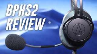 Audio-Technica BPHS2 Broadcast Headset Review / Test