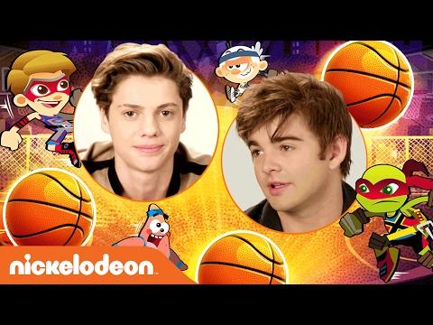 Jace Norman & Jack Griffo Play Basketball Stars 2 | Nick