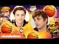 Jace Norman & Jack Griffo Play Basketball Stars 2   Nick