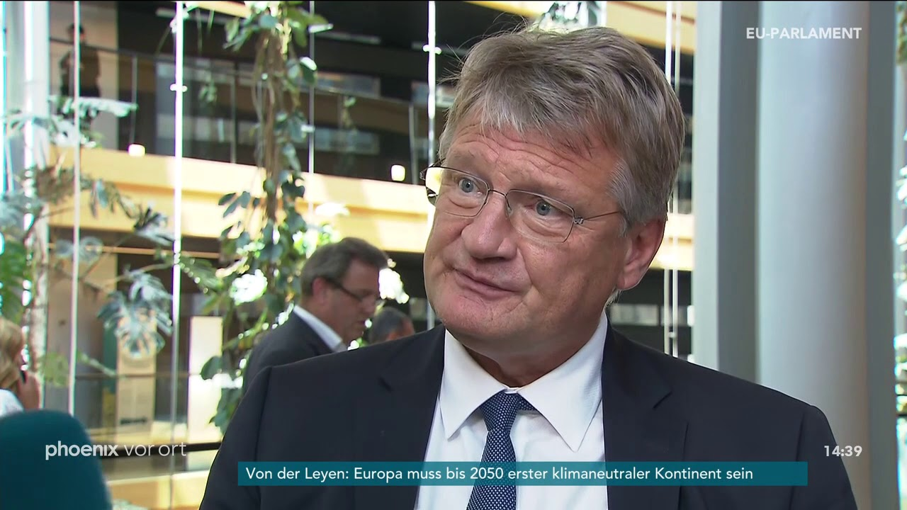 Download Jörg Meuthen zur Kandidatur Ursula von der Leyens als Kommissionspräsidentin am 16.07.19