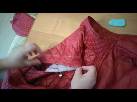 Как перешить куртку на размер меньше