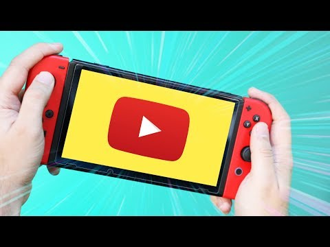 Trying YouTube on the Nintendo Switch
