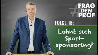 SPORTSPONSORING - Lohnt sich das? #FDP