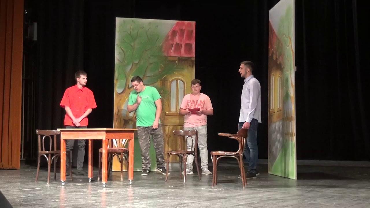 """Ziua Europei, sărbătorită astăzi la Teatrul """"Aureliu Manea"""", de șc. """"Teodor Murășanu"""" (10.05.2019)"""