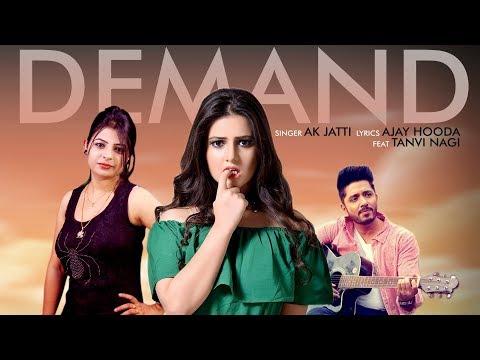Demand (Full Video) | New Haryanvi DJ Songs 2018 | AK Jatti, Ajay Hooda ft Tanvi Nagi | RED Music