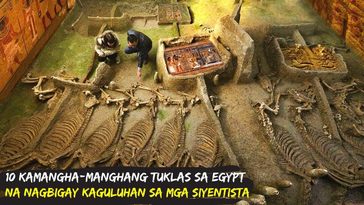 10 Kamangha-manghang Tuklas sa Egypt na Nagbigay Kaguluhan sa mga Siyenstista