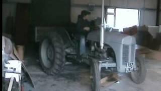ferguson TEF 20 & 3 Ton tipping trailer