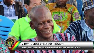 Commissioning of Wa Water Plant